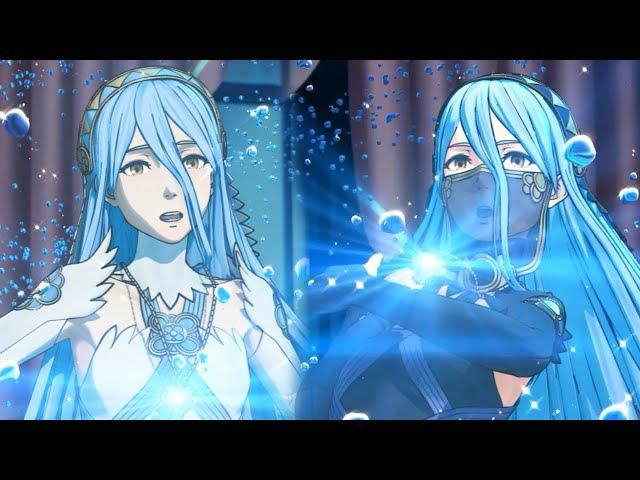 Fire Emblem Fates - Azura's Dance Cutscenes - Real HD@60FPS (EnglishJapanese)