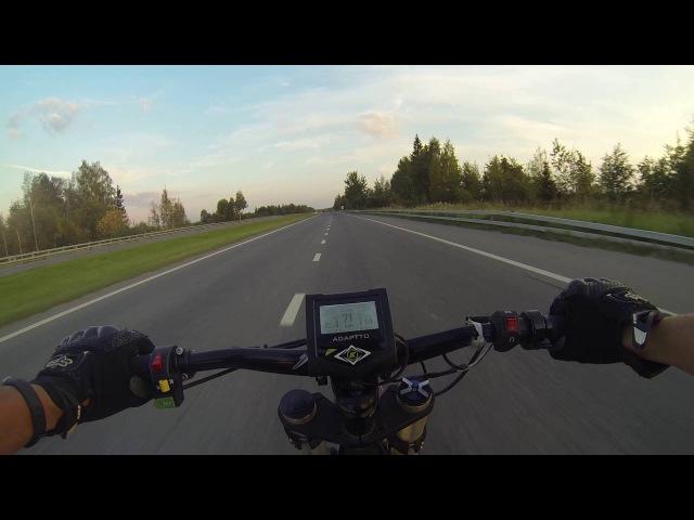 Электровелосипед на трешке(ТТК), 80 кмч