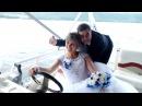 На катері у сестрички на весіллю ))