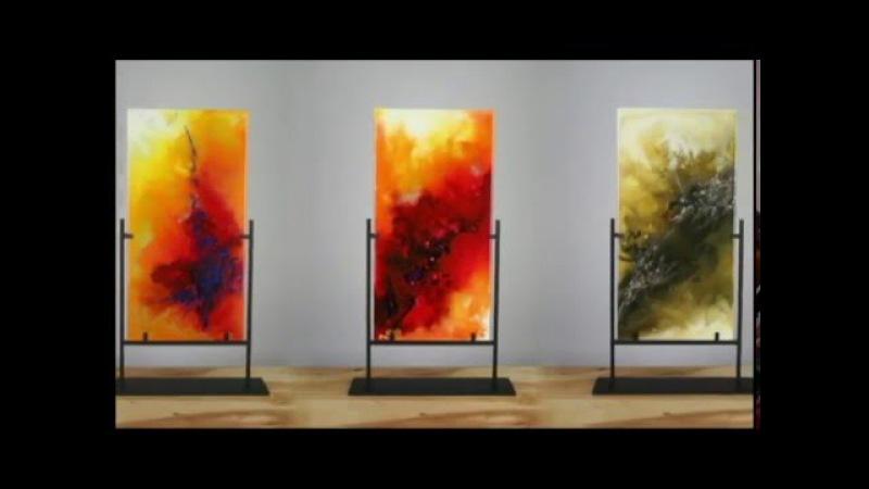 Original Abstract Contemporary Modern Art Painting Technique by Igor Turovskiy
