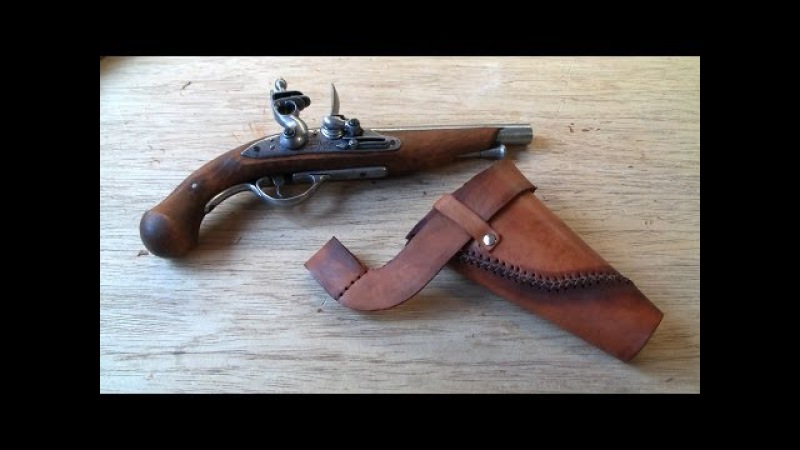 Connor costume (AC3) flintlock holster tutorial