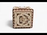 3D Пазл Сейф, конструктор из дерева для детей и взрослых