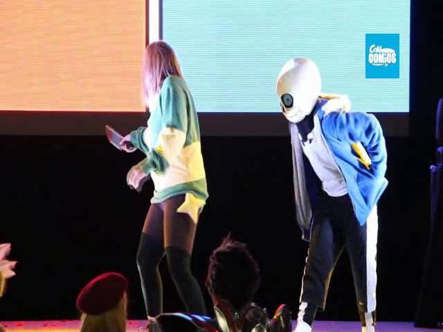 Concomics Undertale Performance 2016 Abril - Guadalajara