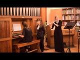 Кьелль Мёрк Карлсен - Сонатина на норвежские народные темы для флейты и органа в трёх частях.