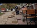 Сквозняки возле НУБиП на сколько суровы что люди не выдерживают и падают с ног