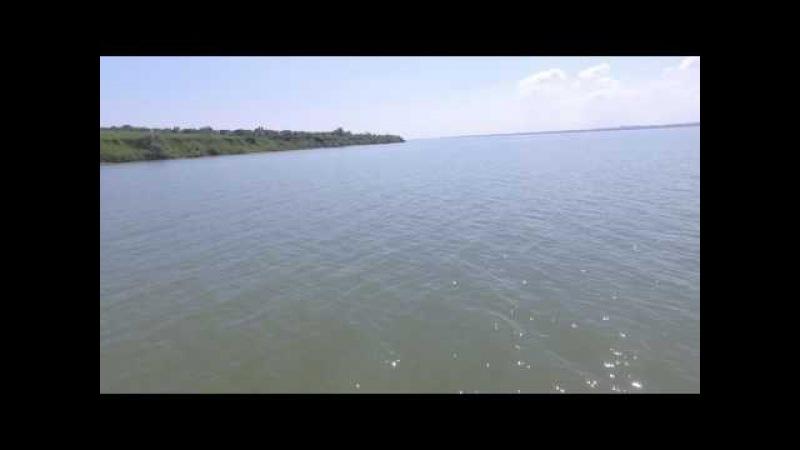 Полет дрона над лиманом на 3.6 км туда и обратно 7.2км (Овидеополь Украина)