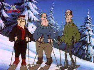 Жизнь с Луи / Life with Louie 16 Уикэнд на лыжах.