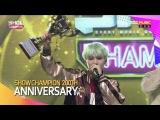 [VIDEO] 160914 쇼챔피언 방탄소년단 200회 축하 메시지 by플로라