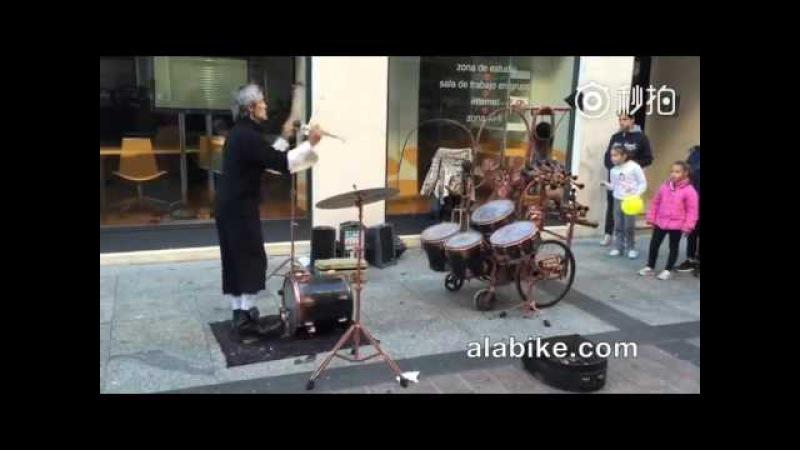 Стимпанковый барабанщик