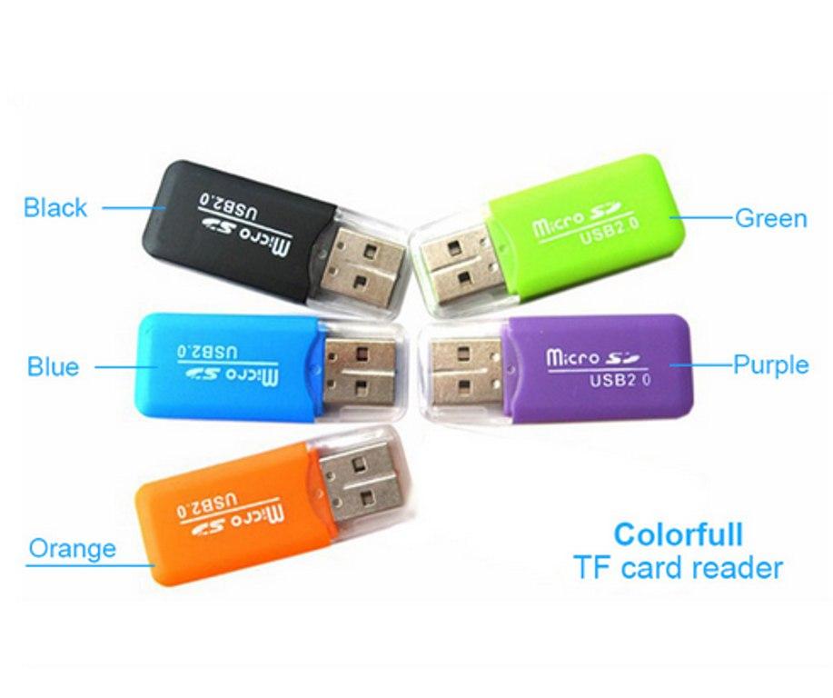 USB переходник Micro SD