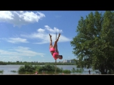 Anastasia Belovoshsceva. Summer 2016. Pole dance.
