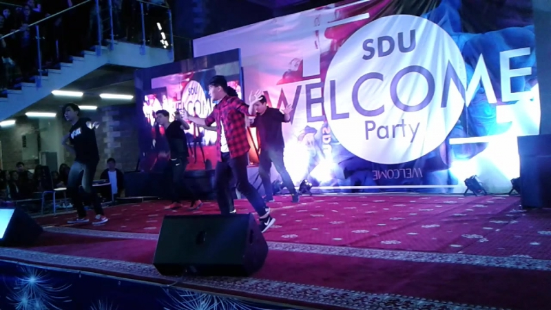 Welcome party SDU 2016(MMDance)