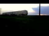 Дизель поезд ДЕЛ2-003 сообщением Николаев - Апостолово на перегоне Лепетиха - Белая Криница Одесской жд.