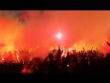 14 мая 2016 года. «Металлист» – «Динамо» (Киев). Пиро-шоу от ультрас «Металла»