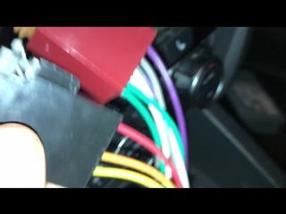 установка магнитолы rcd 330 через переходник