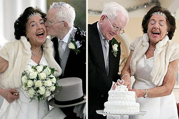 Фото со свадьбы стариков