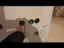 Ремонт квартир в Вологде, Окружное шоссе 24 А, 1-ком, выполнен черновой электромонтаж
