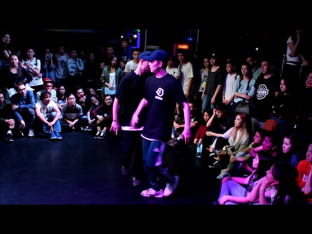 HIP HOP PRO 2x2 1/4 | Akatsuki vs Nazyma Aselka | JUST A BATTLE 2016