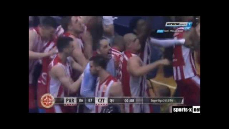 GUDURIC TROJKA u poslednjoj sekundi Partizan Crvena Zvezda 86 87