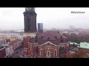 Гамбургский Михель - DailyDrone (2017) - Hauptkirche Sankt Michaelis, Гамбург