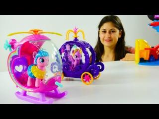 My Little Pony Türkçe. Pinkie Pie ve Twilight Sparkle oyun parkında. Çocuk için video.