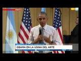 Obama opinando sobre la union de todos los paises en un gobierno mundial