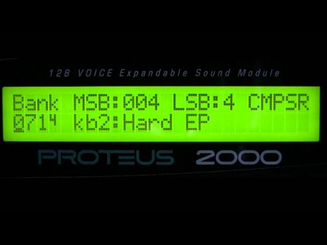 E mu Proteus 2000 'Composer' Rom Presets Part 1