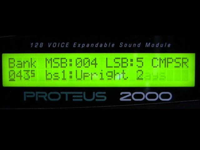 E mu Proteus 2000 'Composer' Rom Presets Part 2