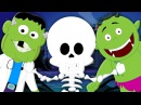 Head Shoulders Knees and Toes | Scary Kids Songs And Nursery Rhymes For Children