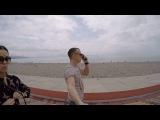 Набережная и пляж Сочи (Адлер)