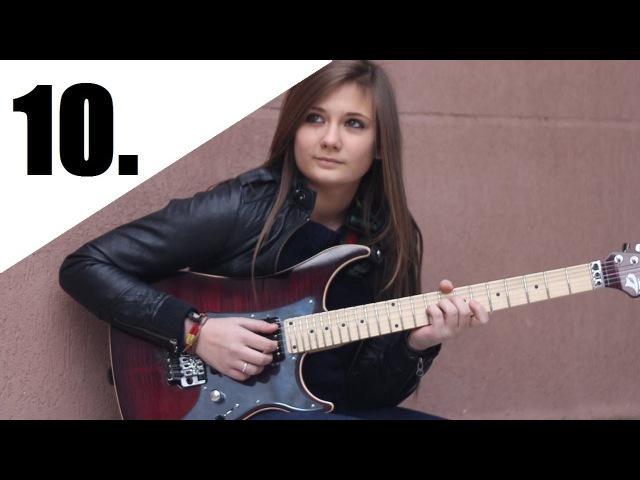 Top 10 Female Youtuber Guitarists