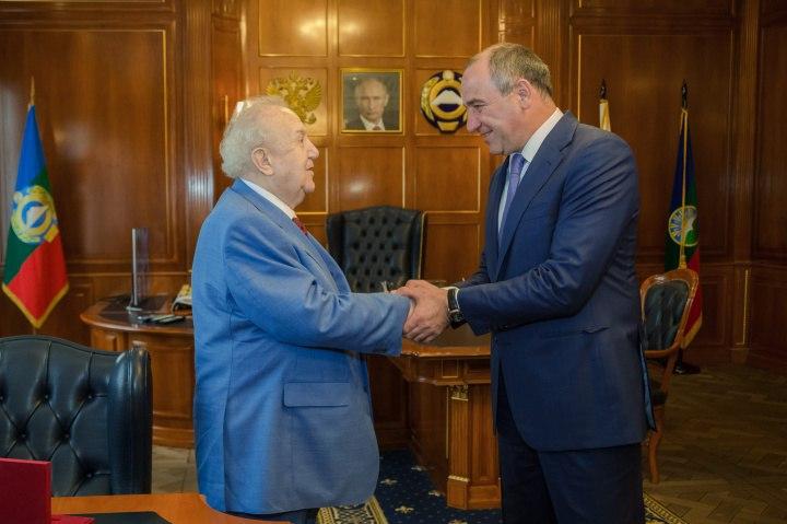 В Карачаево-Черкесии побывал Зураб Церетели