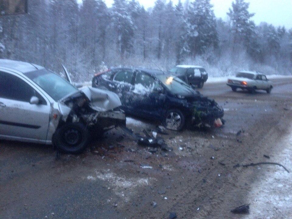 ДТП произошло на 3 км автодороги Дубна – Кимры – Горицы Кимрского района