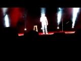 На концерте Руслана Белого???