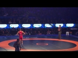 Артём Сурков &amp Мигран Арутюнян - схватка за бронзу на Чемпионате мира 2015 - Лас-Вегас