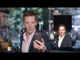 Benedict Cumberbatch -- Zoolander 2 Celebrity Selfie Montage
