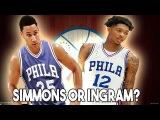 NBA 2K Offseasons | Should The 76ers Draft Ben Simmons or Brandon Ingram?
