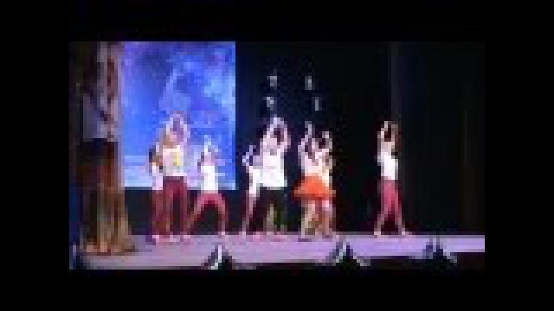 Средняя группа ОЛИМП. Танец на песню СУМАСШЕДШАЯ (Алексей Воробьев)