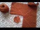 Кардиган из шестиугольников. Часть 1. Основы вязания, пряжа. Knitting women's cardigan.