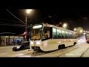 Трамвай 71-619КТ01 (КТМ-19) в Ижевске