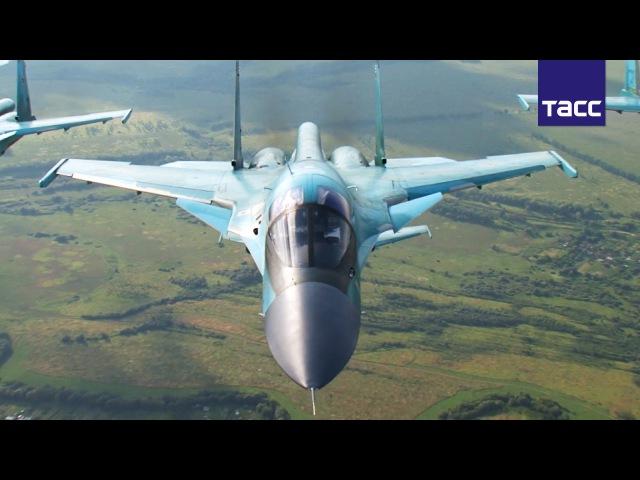 Су 34 лучший бомбардировщик армии России по прозвищу Утенок