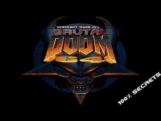 Brutal Doom 64 #1 (100% Secrets) [720p 60fps]