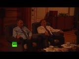 #Путин и Назарбаев посмотрели фильм «28 панфиловцев»