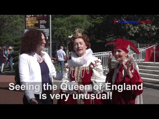 Let's Learn English Lesson 13: Happy Birthday, William Shakespeare!