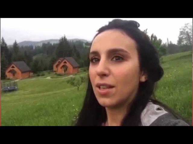 Джамала снимает клип на песню 1944. Два дня съёмок прошли в Карпатах