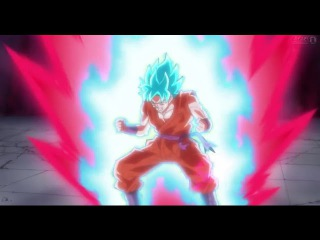Goku Super Saiyan God Kaio-Ken Transformation! - Dragon Ball Super Episode 39 SUBBED HD