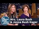 Mrs. Laura Bush and Jenna Bush Hager on George W. Bush's Painting