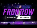 Kenzo Alvares  FRONTROW  World of Dance Argentina Qualifier 2016  #WODARG16