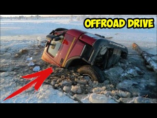 Amazing Swamp Ice Roads of Yakutia Russia. TRUCK OFFROAD DRIVE | Ледяные Дороги Якутии, Россия