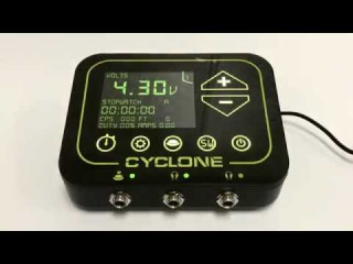 Cyclone Tilt Digital Tattoo Power Supply Unit
